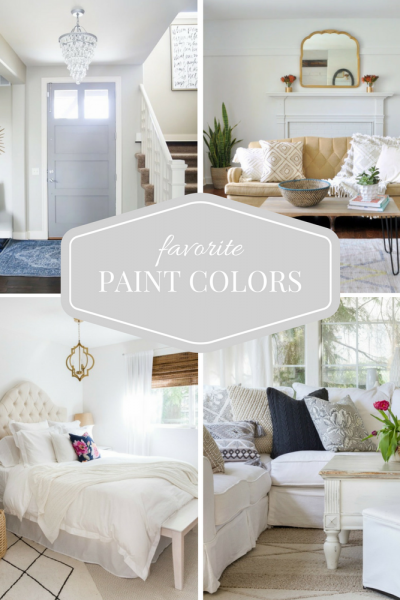 Favorite Paint Color Picks from Top Home Bloggers - Find out more at Satori Design for Living