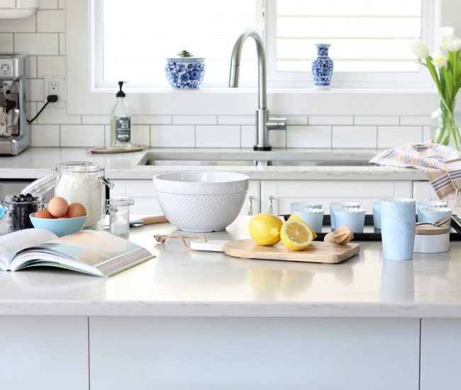 Ready to freshen your kitchen for spring? I'm sharing 5 easy ways to breathe new life into this hard-working space!