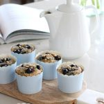 Wholesome Blueberry Oat Breakfast Muffins