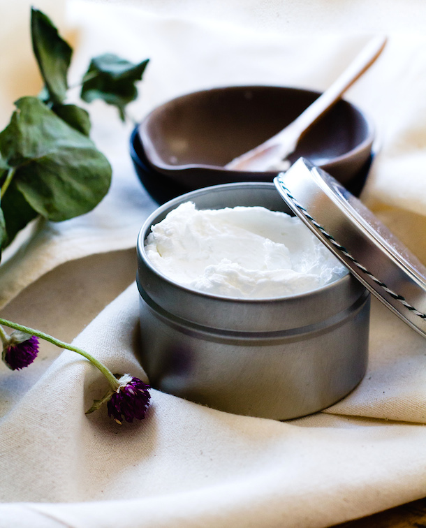 DIY Gift Ideas for the Gardener - Hand Repair Cream Recipe by Heartbeet Kitchen