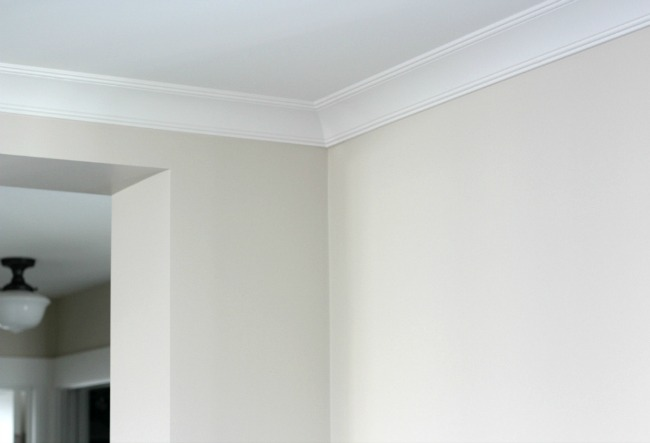 Installing Crown Moulding in the Living Room - Satori Design for Living
