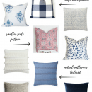 Tips for Mixing Throw Pillows in the Living Room - Styling a Sofa