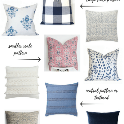 Tips for Mixing Throw Pillows in the Living Room
