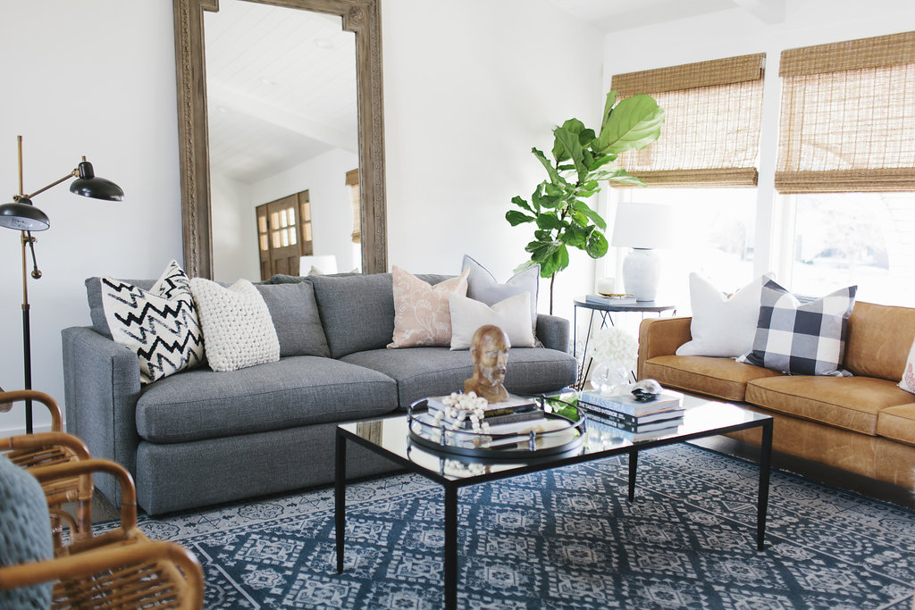 tips for mixing throw pillows in the living room satori