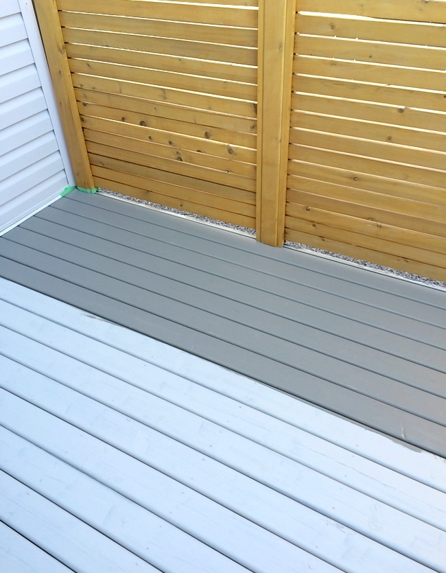 Comparing Deck Stain Colors - Benjamin Moore Chelsea Gray vs. Seacoast Gray by Cabot