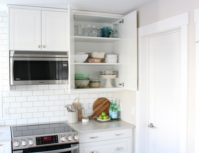 Classic White Kitchen Renovation - IKEA Kitchen Cabinets - Satori Design for Living