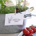 """""""Grow a Tomato Sauce Garden"""" Gift Basket"""