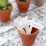 Printed Veggie & Herb Garden Markers