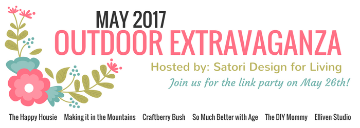 Looking for some outdoor decorating and entertaining ideas? Join the Outdoor Extravaganza blogging series hosted by Satori Design for Living and guests!