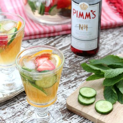 Pimm's Cocktail Jug for Your Next Outdoor Party