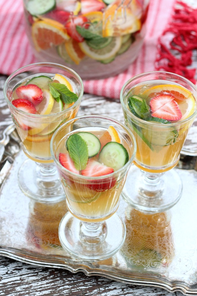 Make a Pimm's Cocktail Jug for Your Next Summer Party