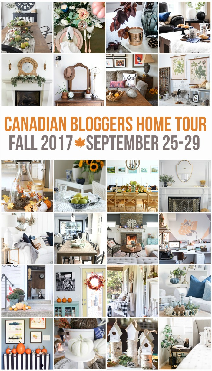 Tour these beautiful Canadian homes decorated for fall! See more at SatoriDesignforLiving.com