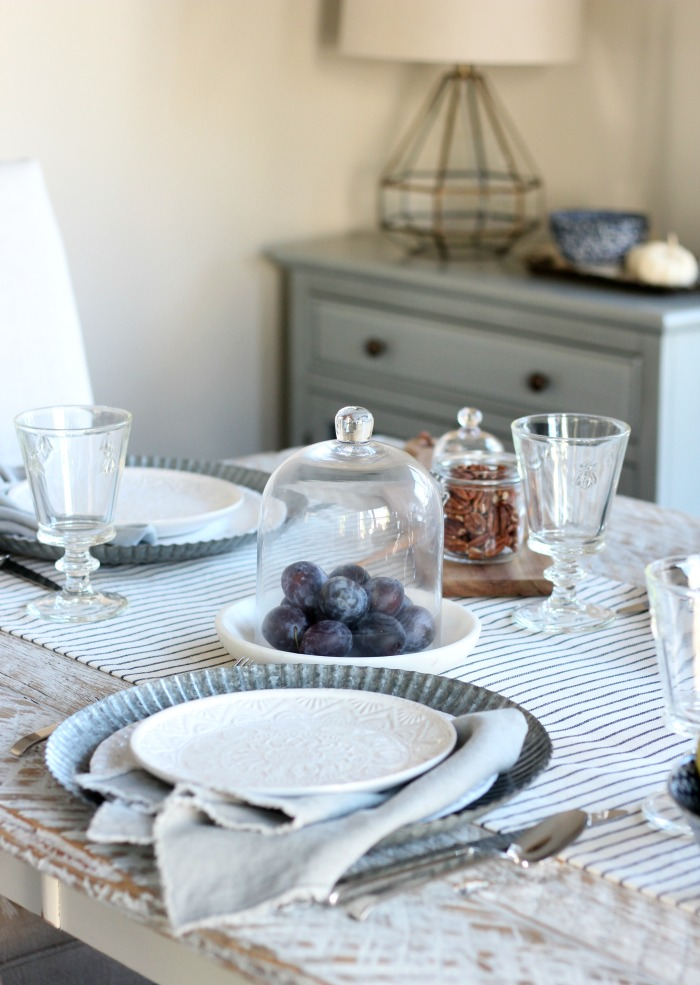 Fall Home Tour - French Country Tablescape - Fall Brunch Ideas - Satori Design for Living