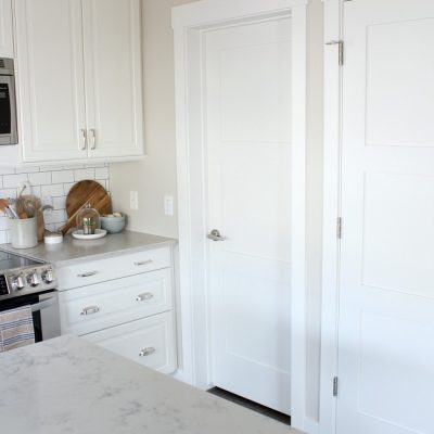 Shaker Style Trim and Doors (The Makeover Details)