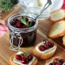 Festive Crostini with Cranberry Compote and Brie - Holiday Appetizer Recipe - Satori Design for Living