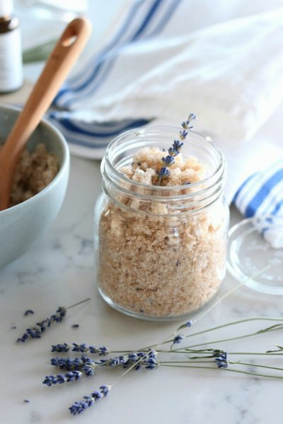 Lavender Sugar Scrub - Easy Handmade Gift Idea - Satori Design for Living