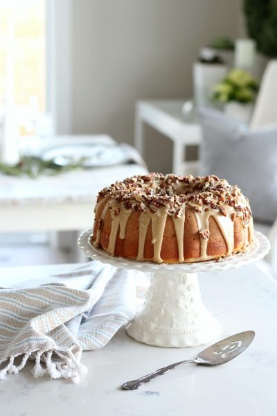 Caramel Pecan Bundt Cake - Satori Design for Living