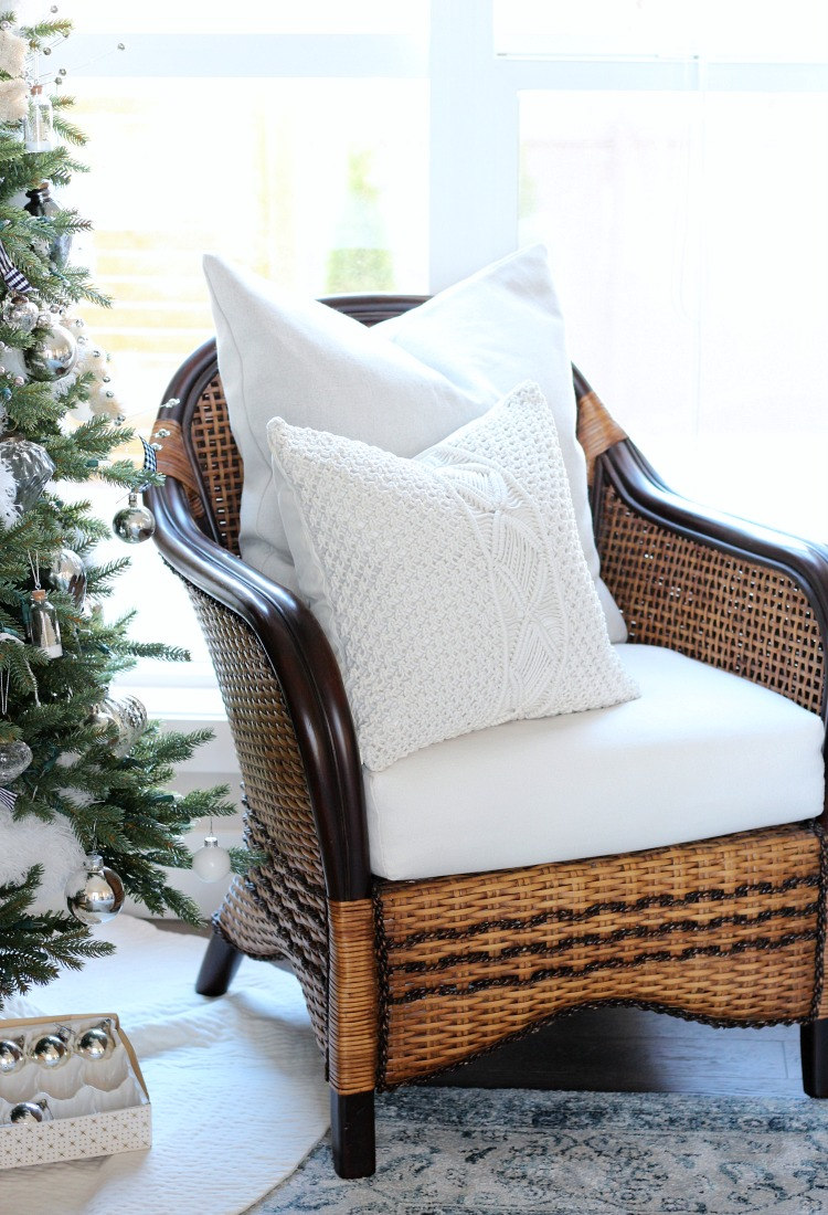 Christmas Home Tour - Simple Living Room Decorating Ideas for Christmas - Satori Design for Living