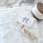 Shabby Chic Christmas Gift Toppers