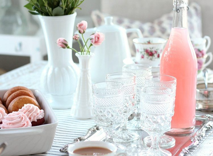 GALentine's Day Tea Party - Vintage Style Valentine's Day Decorating Ideas - Satori Design for Living