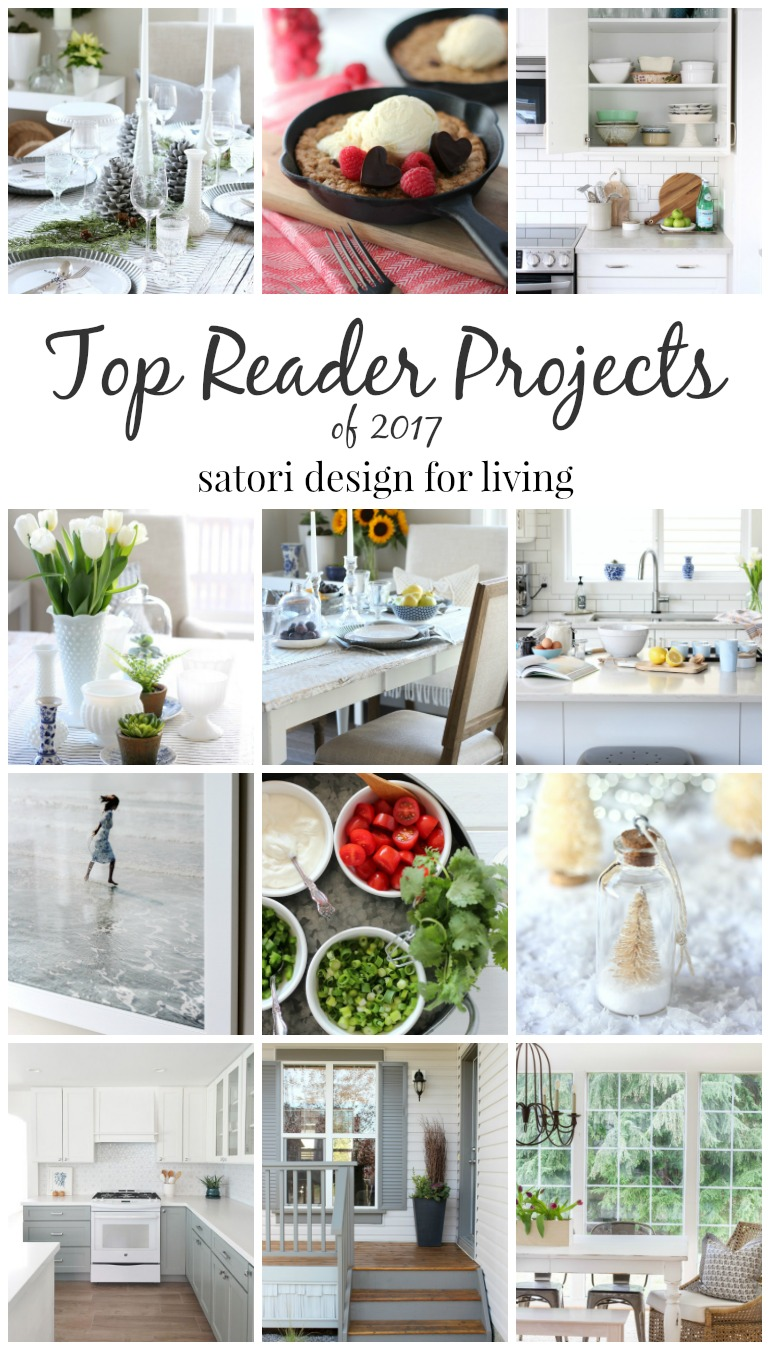 Top 12 Reader Home Projects and Recipes of 2017 - Satori Design for Living