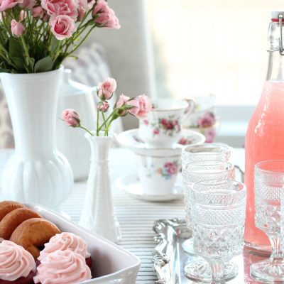 Valentines Day Tea Party - Ideas for Hosting a GALentine's Day Party for Your Girlfriends - Satori Design for Living