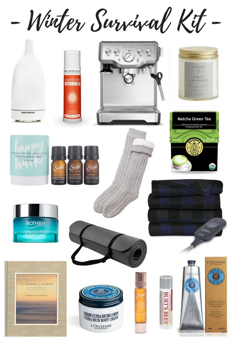 Winter Survival Kit - Put together your own collection of products to help get you through the harsh winter season!