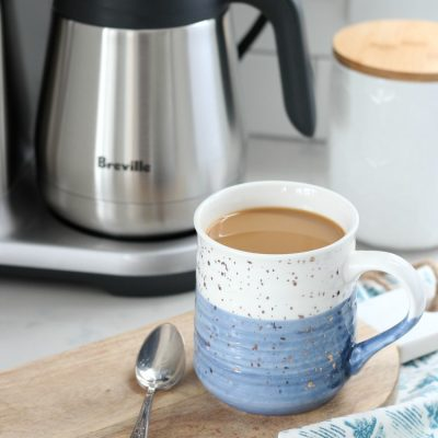 We are loving the look and function of our new coffee maker and grinder from Breville. Connecting over coffee couldn't be easier or more delicious!