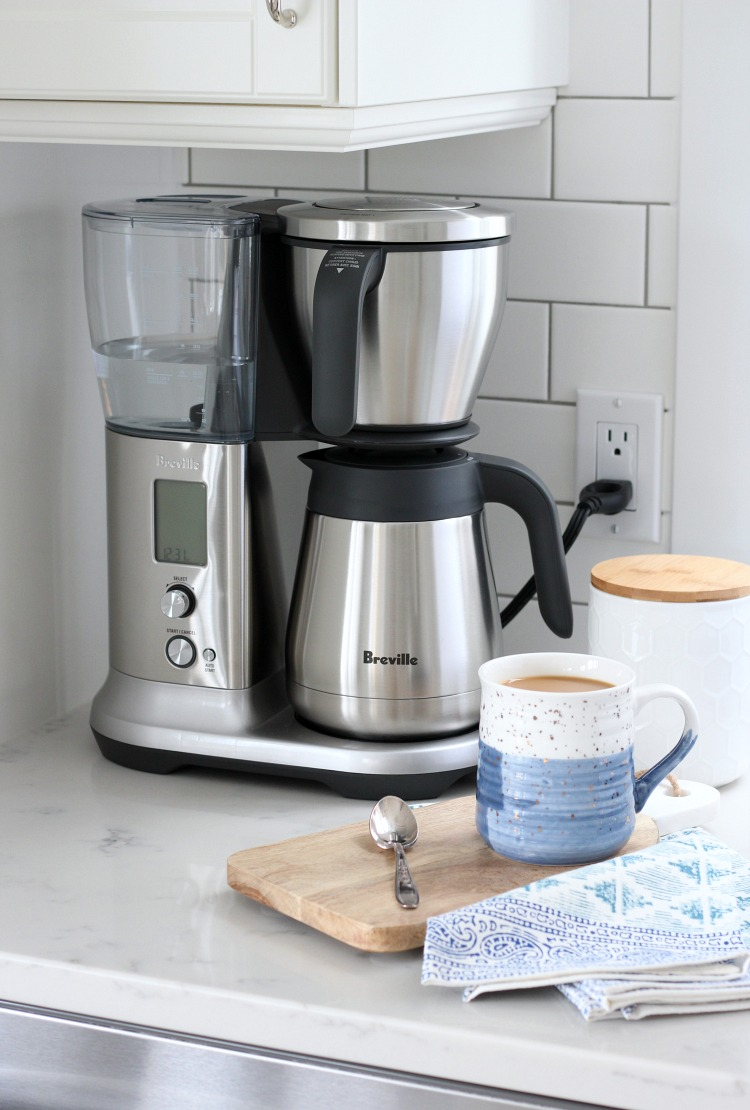 We're loving the look and function our new Breville Precision Brewer™ Thermal coffee maker. Connecting over coffee couldn't be easier or more delicious!