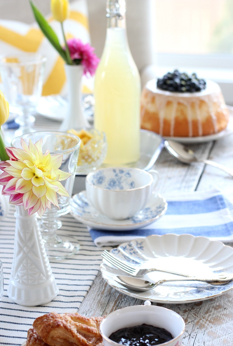 A Bright and Cheery Mother's Day Afternoon Tea - Tips for Hosting a Tea Party