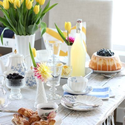 Bright & Cheery Afternoon Tea for Mother's Day