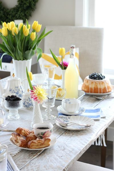 Celebrate mom with an afternoon tea for Mother's Day. A fun and simple way to show your love and appreciation!