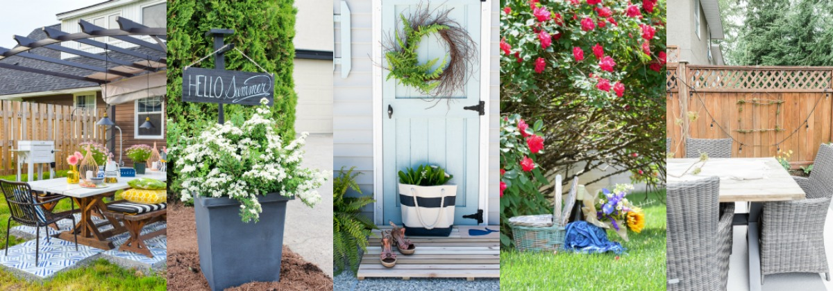 Outdoor Paint and Build-it Projects