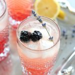 Lavender & Blackberry Sparkling Lemonade