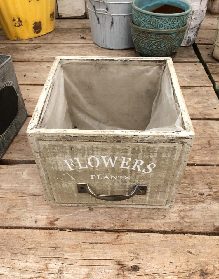 Drawer Planter - Outdoor Planter Ideas - Satori Design for Living