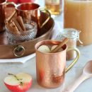 This spiked apple cider is a delicious way to transition to fall with its spicy notes and seasonal flavours. Enjoy hot or cold.