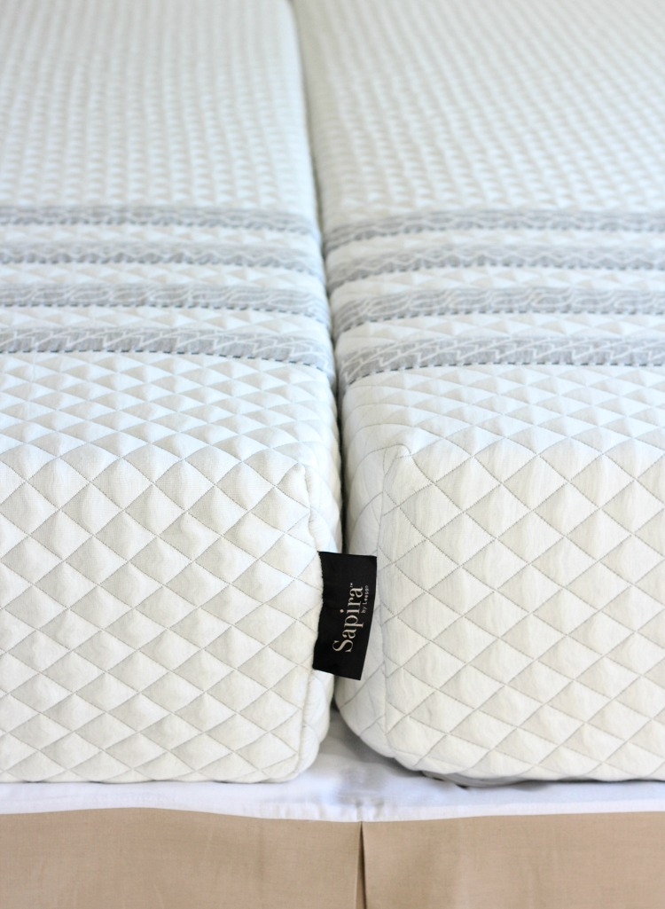 Two Twin XL Mattresses to Form a King - Our Sapira Mattress Review - Satori Design for Living