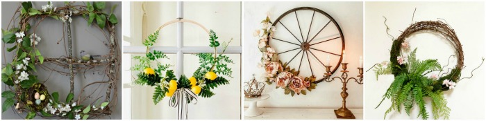 Spring Wreath DIY Projects