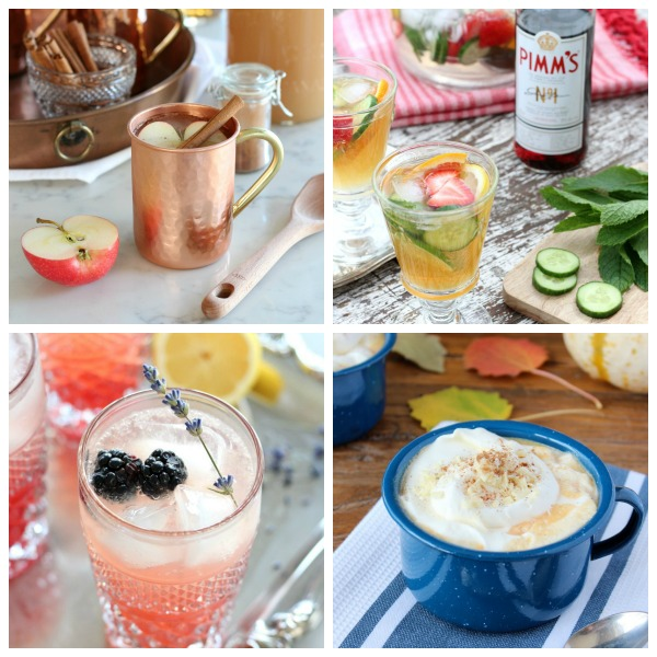 Recipes for the best cocktails, smoothies, hot drinks and more!