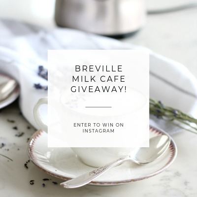 Enter to Win a Breville Milk Cafe - Satori Design for Living