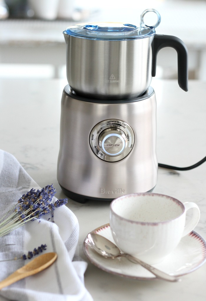 Breville Milk Cafe - Milk Frother for Making Lattes and Hot Milk Drinks - Satori Design for Living