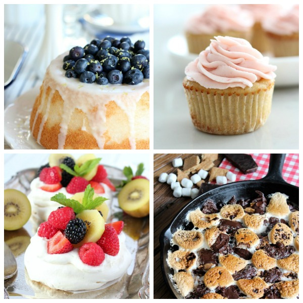 Scrumptious dessert recipes, including cakes, cookies, ice cream, popsicles, pudding and more!