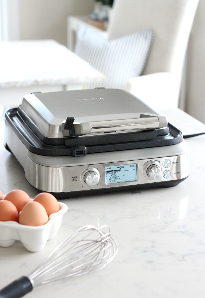 Breville 4-slice Waffle Maker with LCD Display - How to Make My Favourite Classic Waffles - Satori Design for Living