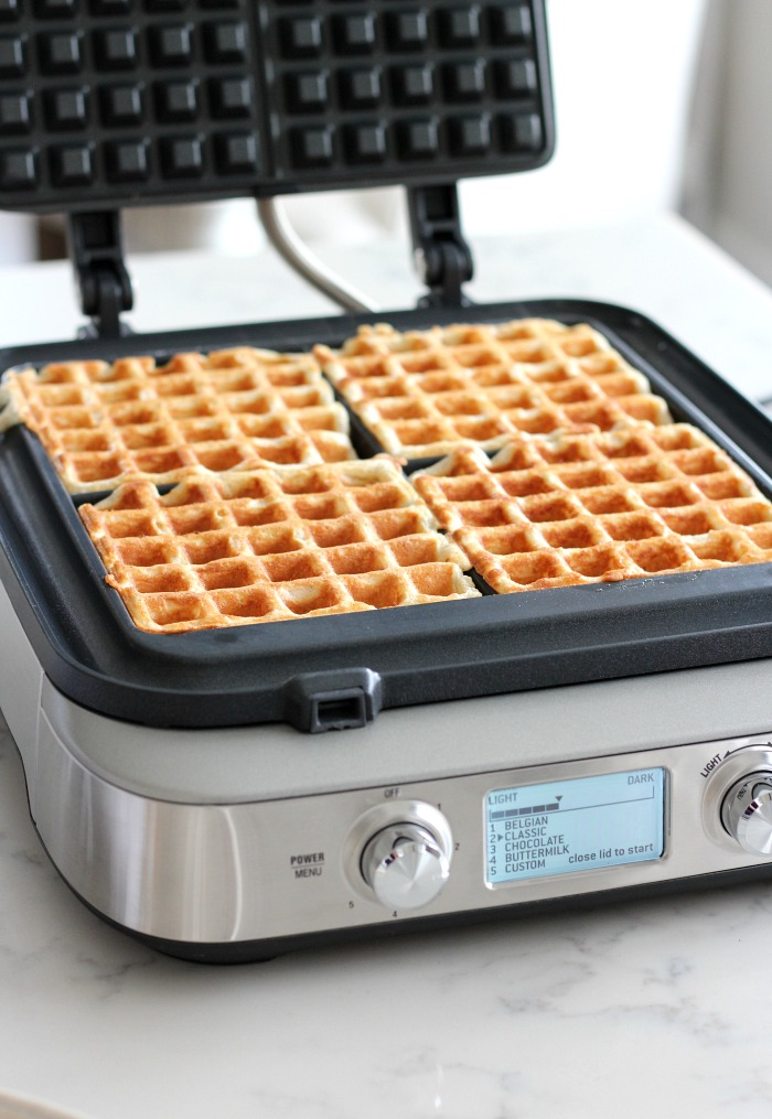 Breville Waffle Maker with Perfectly Browned Classic Waffles - Satori Design for Living