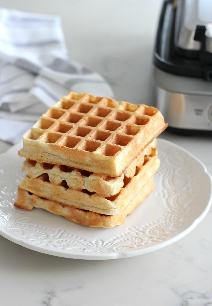 Breville Smart Waffle Pro 4 Slice - Classic Waffle Recipe - Satori Design for Living