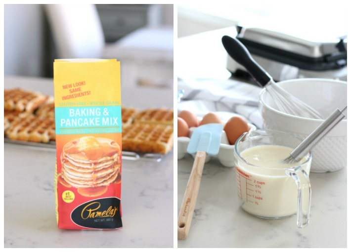 How to Make Gluten Free Waffles Using Pamela's Baking Mix