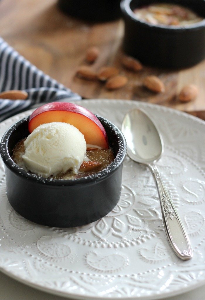 Easy Ramekin Dessert Made with Plums and Frangipane