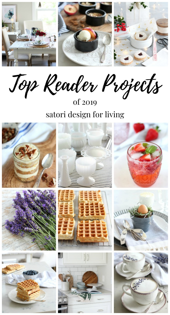 Each year it's fun looking back at your favourite home projects, recipes and ideas. Check out the top 12 posts of 2019!