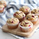 Cranberry Orange Oat Muffins Gluten Free Recipe
