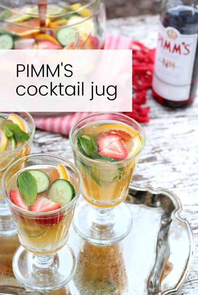Pimm's Jug Recipe